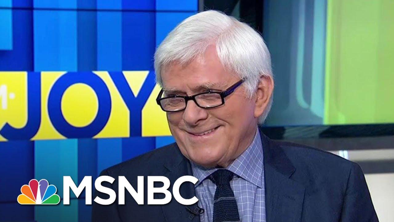 Phil Donahue Calls Donald Trump Era 'Darkest Political Moment'   AM Joy   MSNBC thumbnail