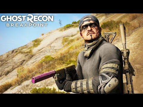 THE M1911 IS IMPECCABLE IN EVERY SITUATION in Ghost Recon Breakpoint Free Roam