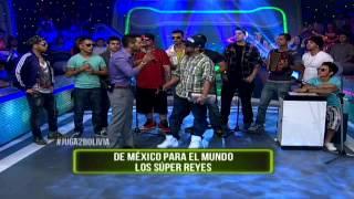 Los Super Reyes de Cruz Martínez de Kumbia kings desde México para toda Bolivia en #Juga2Bolivia