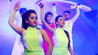 Tanjin Tisha Dancing On SATV Dance Program Dance Time