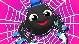 """Incy Wincy Spider"" | Popular Nursery Rhymes by Busy Beavers, Kids Songs, 3D Baby Learning"