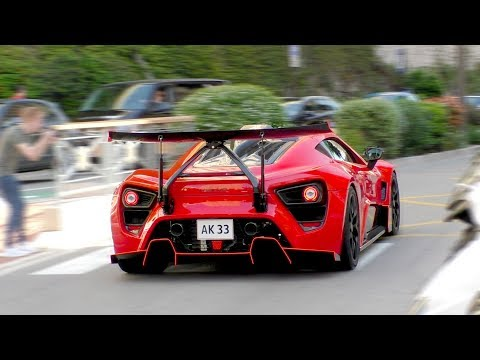 Monaco Madness Supercars During Top Marques 2018 Part 1