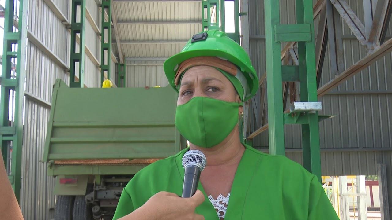 Inicia fase de carga segunda planta cubana de secado de granos