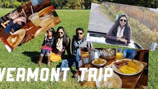 WEEKEND VLOG | VERMONT FALL TRIP | PRIYAMEENA MANOHARAN