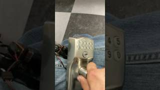 How to factory reset a schlage  push button lock when all codes have been lost or forgotten.