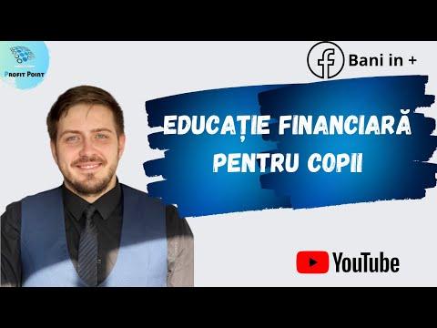 Cum să faci educație financiară cu cei mici prin 3 metode practice- Educatie financiara incepatori