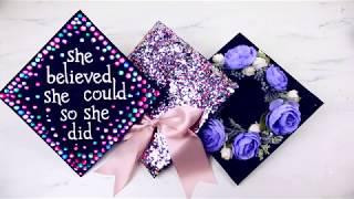 DIY Graduation Caps 3 Ways