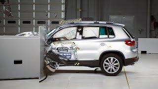 [IIHS] 2013 Tiguan small overlap IIHS crash test