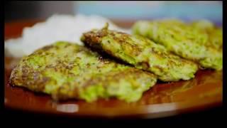Рецепт, оладьи из кабачков, без муки и яиц
