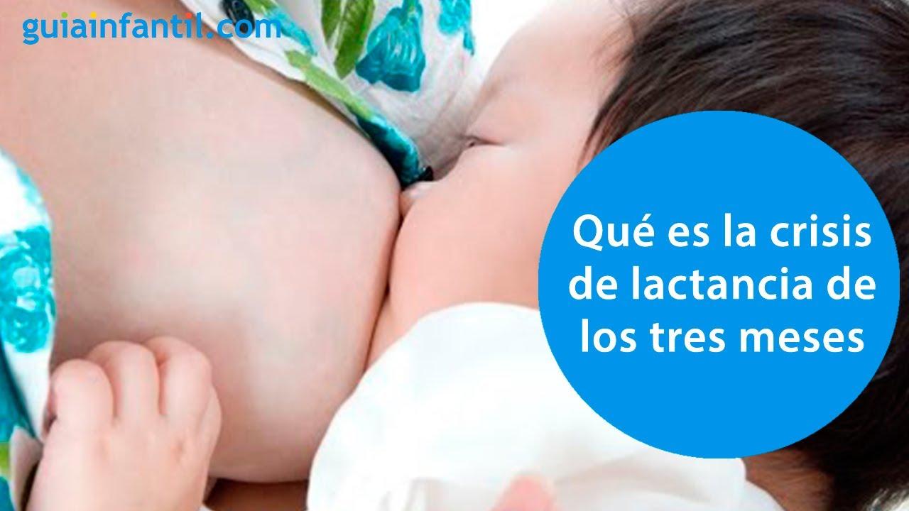 La crisis de lactancia de los 3 meses. Consejos de lactancia materna