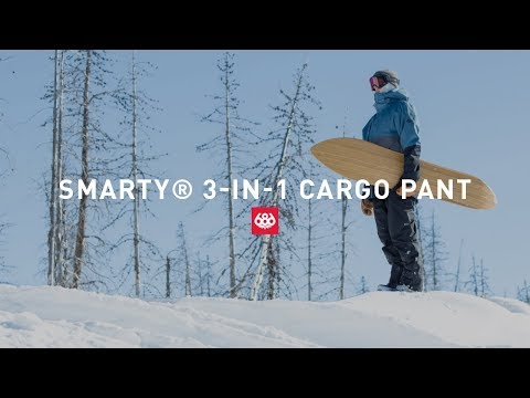 SMARTY® 3-In-1 Cargo Pant