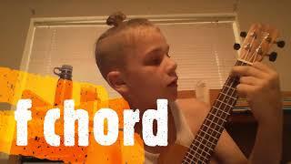 duck song on ukulele tutorial