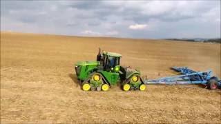 John Deere 9620 RX + Lemken Gigant Heliodor 16 m