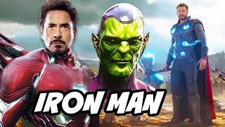 Avengers Phase 4 Iron Man Illuminati Easter Egg Scene Explained