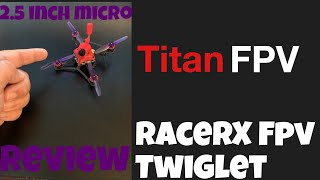 RacerX FPV Twiglet Review