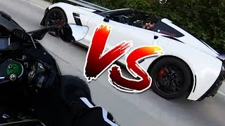 FAST BIKES VS FAST CARS!!!