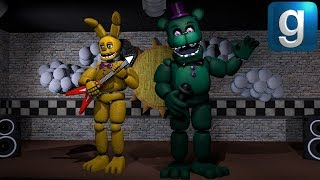 Gmod FNAF | Ignited and Stylized Springtrap! - Most Popular
