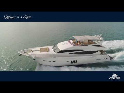 Princess 78 Motor Yacht (78MY) Luxury Flybridge Review 2017