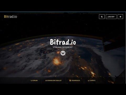 Получай криптовалюту без вложений слушая онлайн радио! (bitrad.io)