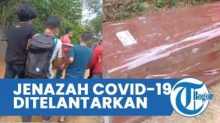 Viral Video Jenazah Pasien Covid 19 Diduga Ditelantarkan Pihak Rumah Sakit di Makam