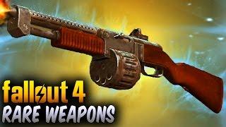 Fallout 4 Rare Weapons - 5 Powerful Secret & Unique Weapon Locations !
