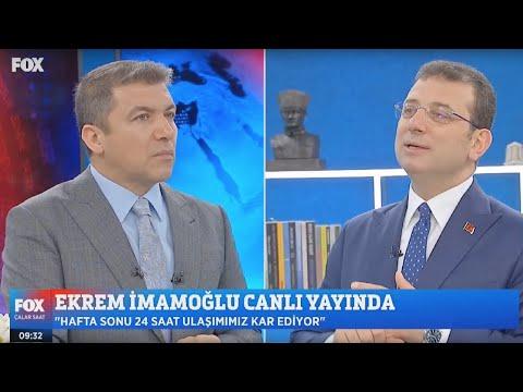 FOX TV'de İsmail Küçükkaya'nın canlı yayın konuğuyum.