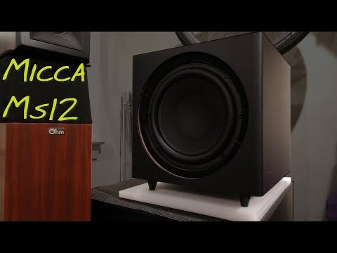 Micca MS12 Subwoofer _(Z Reviews)_ FULL STEREO RECORDING