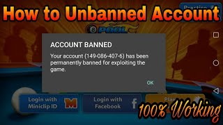 How To Unbanned 8 Ball Pool Account - Get Your Banned account back - Miniclip 8 Ball Pool