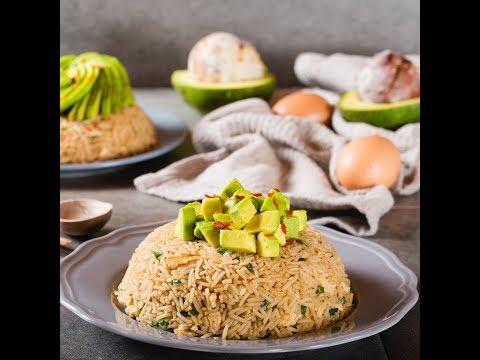 Avocado Egg Fried Rice
