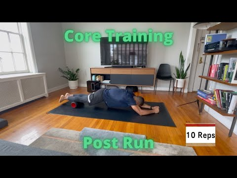 Workout video for Core Training - Post Run