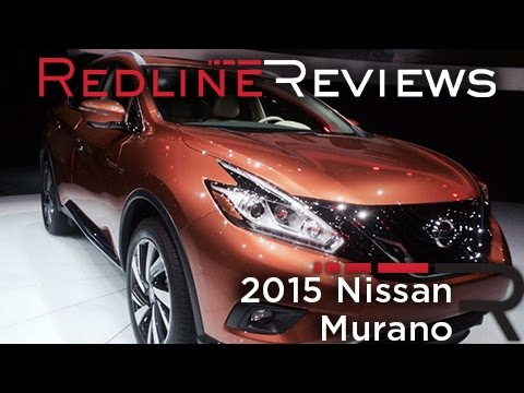 2015 Nissan Murano - 2014 New York International Auto Show