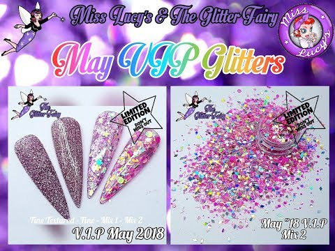 May VIP Subscription Glitters - The Glitter Fairy - Limited Edition