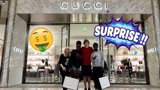 WE BOUGHT OUR FANS ANYTHING FROM GUCCI!