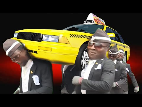 COFFIN FUNERAL DANCE MEME #23 - BeamNG Drive