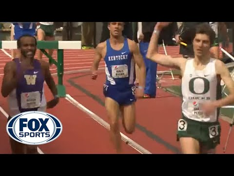 Oregon runner prematurely celebrates win, gets passed at finish line
