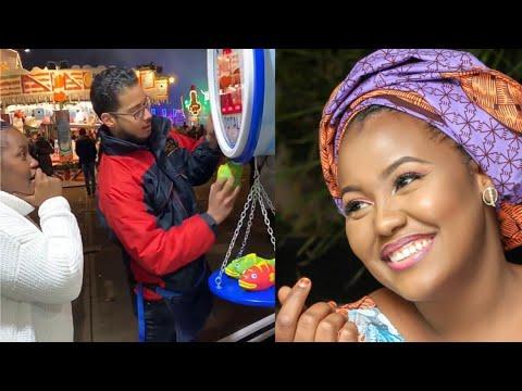 Duniya Tayi Dadi Kalli Yadda Hadiza Gabon Ke Rayuwa A Kasar Waje Tare Da Turawa