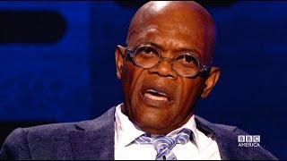 SAMUEL L. JACKSON Does Pulp Fiction Ezekiel 25:17 Speech - The Graham Norton Show on BBC AMERICA