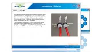 TMA Curve Interpretation