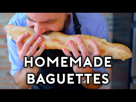 Binging with Babish: Brie & Butter Baguettes from Twin Peaks