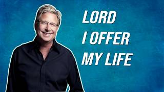 Lord I offer my life LYRICS - Don Moen