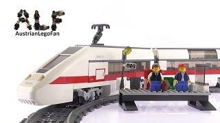 Lego City 7897 Passenger Train - Lego Speed Build Review