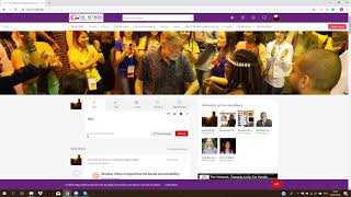Social Wall in the TUFH Online Community Training Video