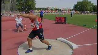 Athletics - David Casinos Sierra - Men's Shot Put F11 Final - 2013 IPC Athletics World C...