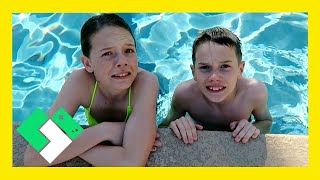 KIDS FIRST TIME IN NEW POOL (Day 1807)