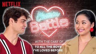 NOAH CENTINEO FLIRTS WITH LANA CONDOR | Charm Battle | Netflix