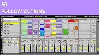 Ableton Live Follow Action Tutorial: Split tracks into Clips