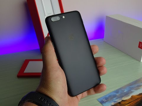 Recensione OnePlus 5 8 GB di RAM e confronto Slate Gray vs Midnight Black