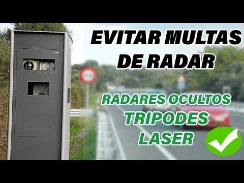 Mejor Detector de Radares Fijos y Móviles para Evitar Multas | Supercombi III