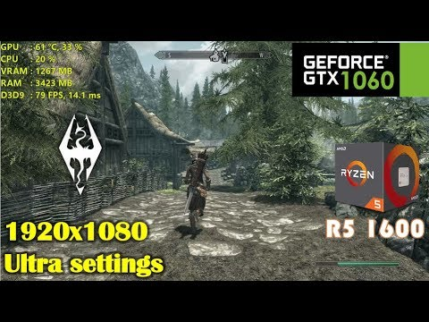 The Elder Scrolls Online Ryzen 1600x vs  Intel i5 8400 | GTX