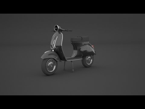 Modeling Vespa 3ds max tutorial part – 1